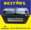 DIN Standard Vehicle Battery 100ah 12V Automobile Car Battery 60038-Mf