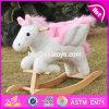 New Wooden Balance Rocking Horse, Popular Wooden Rocking Horse, Kids′ Wooden Rocking Horse Toy, Wood Rocking Horse W16D072
