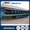 4 Axles Light Weight Design Heavy Duty Container Flatbed Trailer