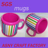Cartoon 3D Rainbow Gay Souvenir PVC Mugs