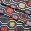 """Contemporary Jacquard Textured Chenille Upholstery Fabric 57"""" Multi-Color"""