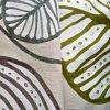100% Hemp Print Fabric for Garment and Home Textile (QF13-0111)