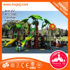 Kids Long Plastic Slide Entertainment Playground System