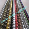 Honby 100% Round Vary Color Metal Bead Ball Chain