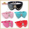 PU Pet Collars/Bow Tie/Dog Cat Collars/Leashes (KC0060)
