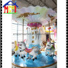 6seats Amusement Park Equipment Swan Roundabout Horse Merry-Go-Round Carousel
