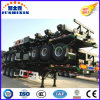 3 Axles Container Transport Skeleton Semi Trailer on Promotion