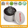 Round Metal Tin Can Watch Tin for Gift Storage Box