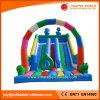 2017 Giant Inflatable Double Lanes Slide for Amusement Park (T4-513)