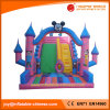 2017 Giant Inflatable Mickey Double Lanes Slide for Amusement Park (T4-514)