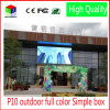 P10 LED Display Screen Outdoor Large Screen LED Video Wall 960*960mm Waterproof Cabinet RGB DIP Full Color