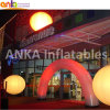 Guangzhou City Christmas Inflatable Light Arch with Warranty 2years