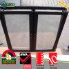 Black Color PVC Windows, UPVC Tilt Turn Windows