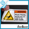 Reflective Warning Label for Building Site