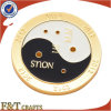 High Quality Die Brass Gold Plated Challenge Metal Souvenir Coins (FTCN1915A)