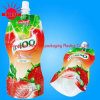 Plastic Stand up Spout Food Retort Pouch for Juice Packaging/Spout Pouch for Juice