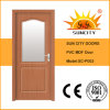 Wooden Interior Door with Frosted Glass (SC-P003)