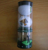 Pet Plastic Clear Hard Golf Ball Packing Round Tube