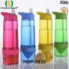 Hot Sale BPA Free Tritan Lemon Fruit Infusion Bottle (HDP-0830)
