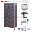 Multi-Functional Epoxy Black Metal Garment Rack /Metal Wardrobe
