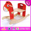 2015 Kids Toy Wooden Rocking Horse, Safe Wooden Animals Traditional Rocking Horse, Swing Children Wooden Rocking Horse Toy W16D059