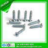 Blue Zinc Stainless Steel Philips Recess Flat Head Self Tapping Screw