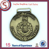 Customized Die Cast Antique Gold Plated Competition Medal