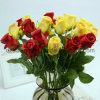 Colorful PE Single Rose Artificial Flower (SW01054)
