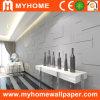 Decorative White 3D PVC Wall Panel Bamboo Wallpaper