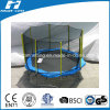 Octangle Shape Big Trampoline with Enclosure