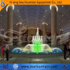 Stainless Steel Program Control Simple Water Shape Fountain