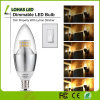 Dimmable E12 E14 E27 3W 5W 6W 7W LED Candle Bulb Light with Ce RoHS UL
