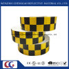 Black/Yellow Grid Design Reflective Conspicuity Tape (C3500-G)