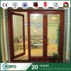 Latest Design Wooden Interior Room Door with Tempered Glass
