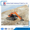 China Amphibious Excavator with 3 Chains and 2 Units of Pontoons
