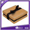 Luxury Gold Paper Packaging Box Chocolate Gift Box with Ribbon
