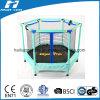 Blue Colour Mini Trampoline with Enclosure