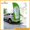 3.4m Tradeshow Aluminium Digital Printing Swooper Flag/Feather Flag