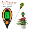 4 in 1 Digital Soil pH Moisture Temperature Light Meter