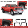 Car Accessories Injection Mould Fender Flares for Chevy Silverado 2014+