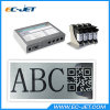 Cosmetic Product Inkjet Printer with Different Coloured HP Cartridge (ECH802)