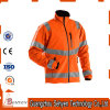waterproof Orange Winter High Visibility Reflective Safety Jacket