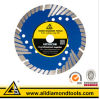 Triangle Shape Segment Granite Cutting Diamond Saw Blade