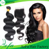 Brazilian Body Wave Human Hair Bundles with Lace Closure Brazilian Virgin Hair