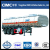 Cimc 40m3 Oil Fuel Tanker Trailer with Three Axles