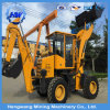 New Type Wheels Hydraulic Loader-Digger for Sale