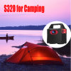 Camping Tool Kit Solar Power Bank with LED Light