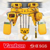 10 Ton Low-Headroom Type Electric Chain Hoist with Trolley (WBH-10004DL)