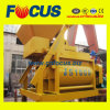 1000L Forced Concrete Mixer with Horizontal Twin Shaft