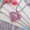 Beautiful Pendant Jewelry for Party Girls Diamond Shaped Hot Selling Product Costume Accessories Charm